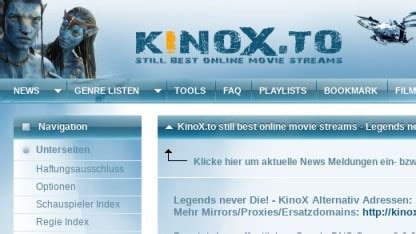 Illegales Streaming: Kinox