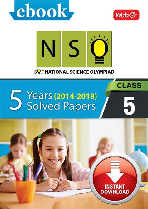 Class 5 NSO 5 years (Instant download eBook) [EP201800126