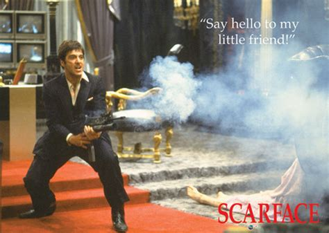 Scarface - Say Hello to My Little Friend Framed Poster