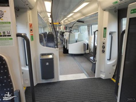 CycleStreets » The new Class 379 Stansted Express trains