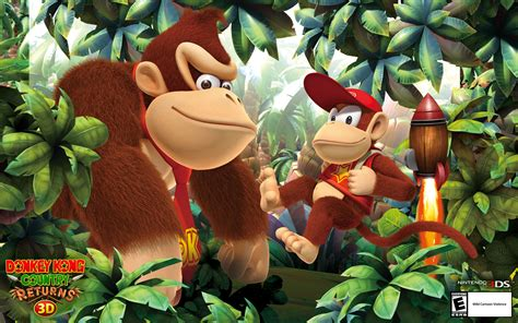 Wallpapers - Donkey Kong Country Returns 3D for Nintendo 3DS