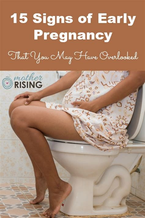 15 Signs of Early Pregnancy That You May Have Overlooked