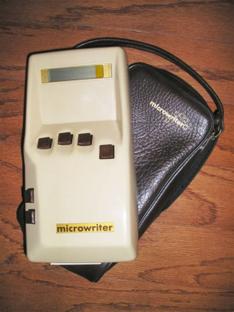 """Discover Cy Endfield's """"Microwriter,"""" The World's First"""