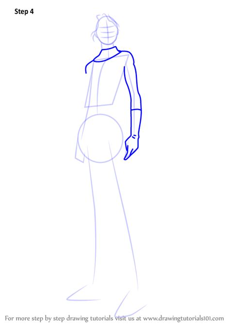 Learn How to Draw Invisible Woman (Marvel Comics) Step by