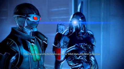 Mass Effect 2 - Squad Members' Opinion On Legion's Loyalty