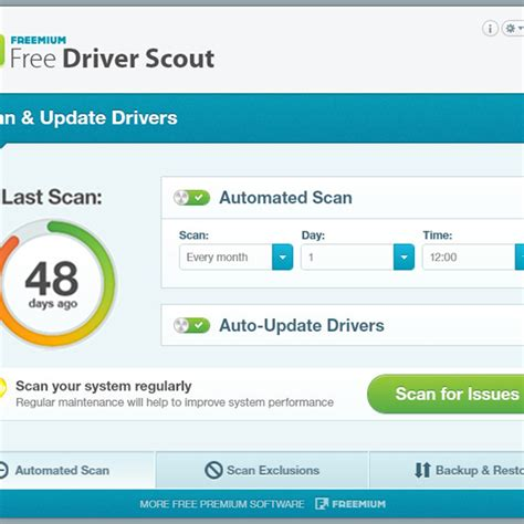 Free Driver Scout Alternatives and Similar Software