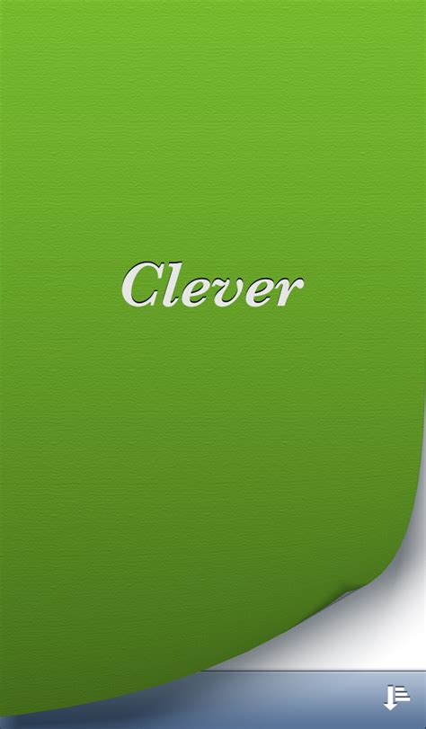 Clever - iPhone - English - Evernote App Center
