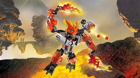 Bionicle G2 Review: Protector of Fire (70783) - YouTube