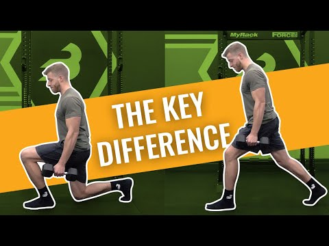 Squats VS Lunges: What's Better for Building Legs - Women