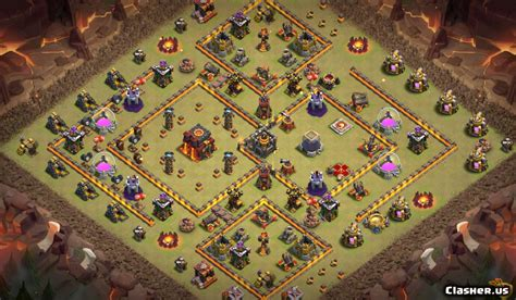 [Town Hall 10] TH10 War/Trophy base #177 [With Link] [4