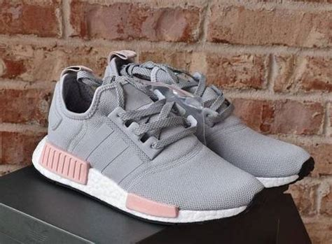Fashion nmd r1 raw gray pink women's casual shoes on Storenvy