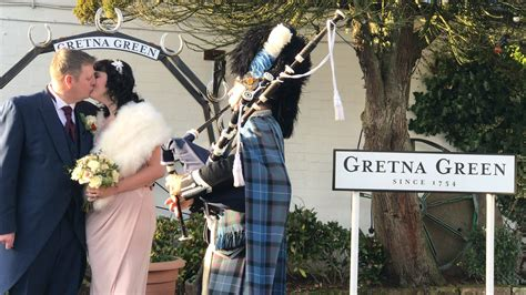 Renew Your Wedding Vows Smiths at Gretna Green