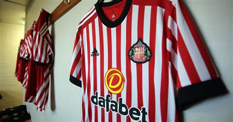 The first look at Sunderland's new home kit for the 2017
