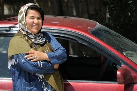 Meet Afghanistan's first female cabbie - NY Daily News