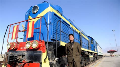 Afghanistan Rail System Connects to Uzbekistan | Asian
