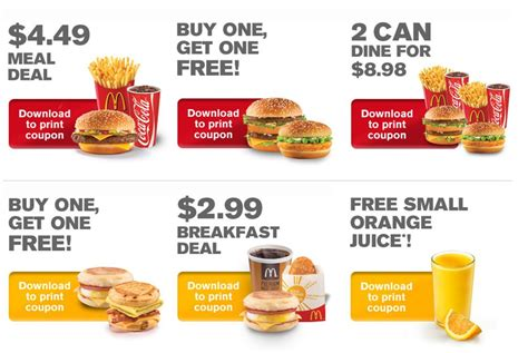The Best Way To Enjoy Your Fast Food Menus And Coupons