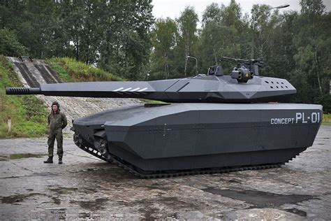 Obrum PL-01 Concept Tank with Adaptiv Systems - MIKESHOUTS