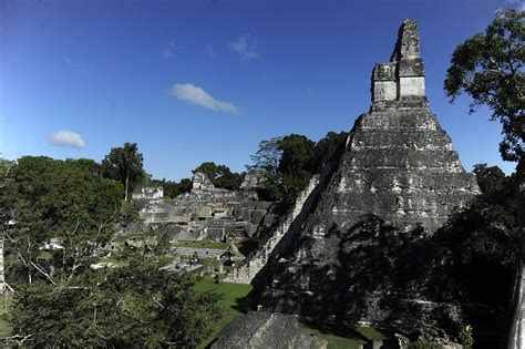 Drought May Have Led to Decline of Ancient Mayan