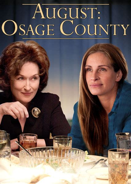 Is 'August: Osage County' available to watch on Netflix in