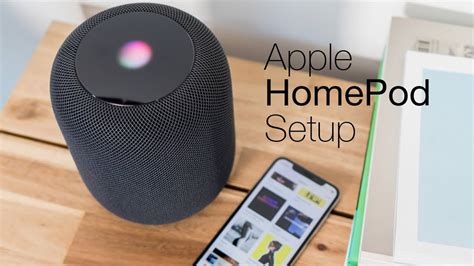 How to set up the Apple HomePod: Unboxing and setup - YouTube
