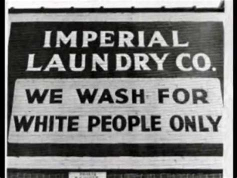 Segregation in the southern USA (Jim Crow Laws period