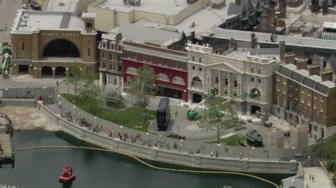 Photos: Aerial view of Harry Potter expansion