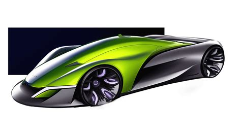 McLaren Halo Hypercar Visualized For The Year 2032