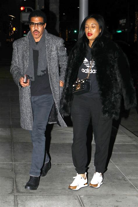 Lionel Richie and his girlfriend in Beverly Hills | Sandra