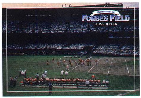 Forbes Field - history, photos and more of the Pittsburgh