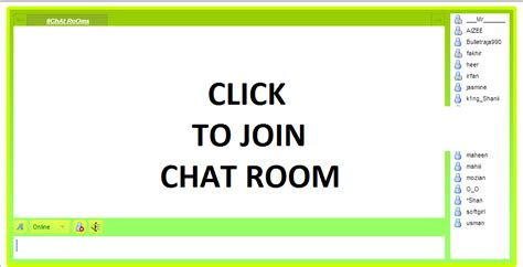 FREE Chat Rooms in Middle East Online Without Registration