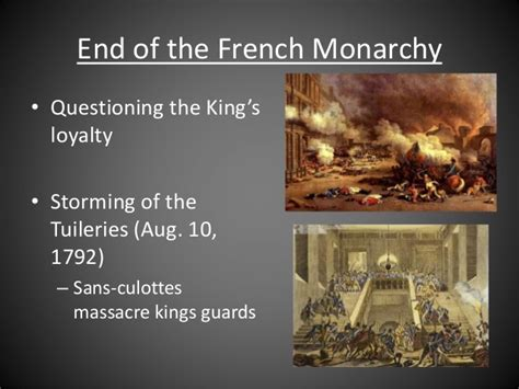 French Revolution - Radical stage & reaction