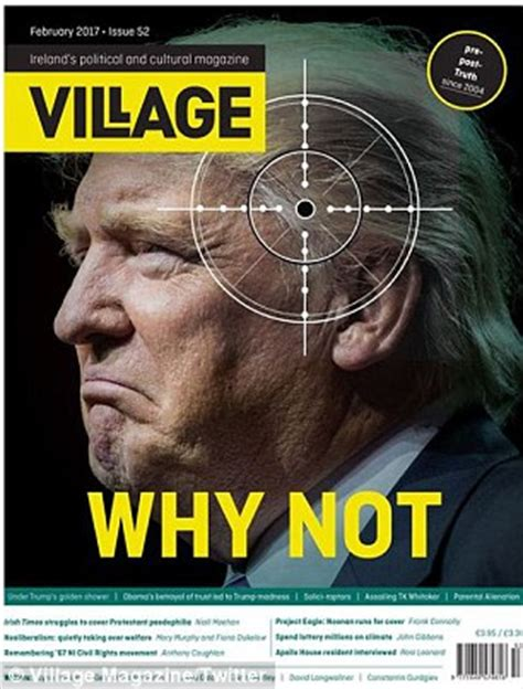 Outrage as Der Spiegel publishes shock Trump cover | Daily