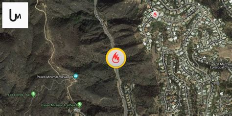 At least 20 acres burned in Pacific Palisades fire, people