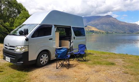 Hire and Rental a Toyota Hiace Hitop Campervan   CamperCo
