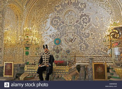 Peacock Throne in the Reception Hall, Golestan Palace