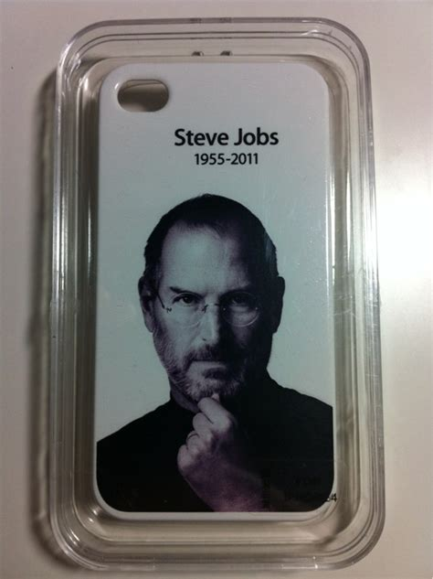Steve Jobs Tribute Cases Are Now Available for Your New